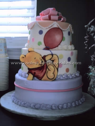Coolest Homemade Winnie The Pooh Pooh Bear Cakes