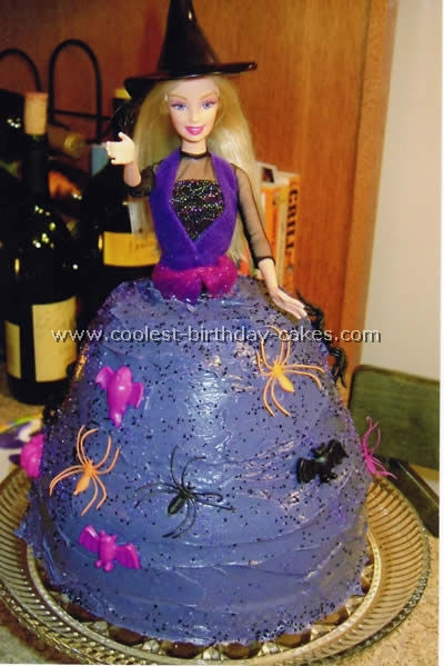 Coolest Homemade Witches Cakes