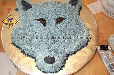 Wolf Shaped Cake Pan