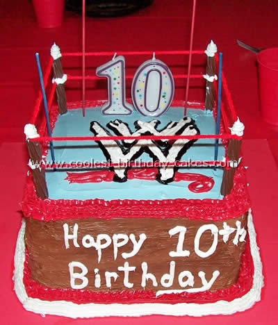 Coolest Wrestling Cakes And Wwe Cakes