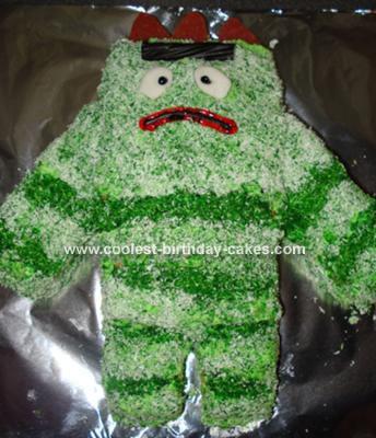 Gabba Gabba Birthday Cake on Here S A Brobee Cake From Yo Gabba Gabba