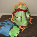 Zombies Halloween Cake Ideas